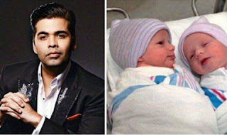 Karan Johar is planning to reveal his twins first picture