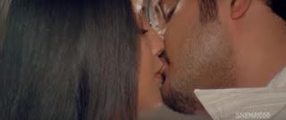Meghna Naidu Himanshu Malik Hot Smooch In Movie Rain 2