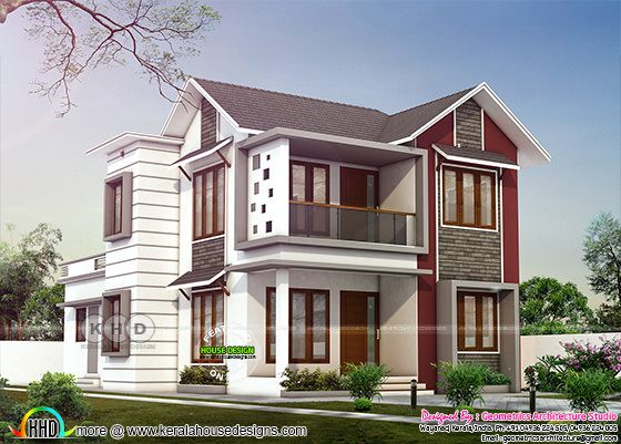 1718 square feet, 4 bedroom home architecture