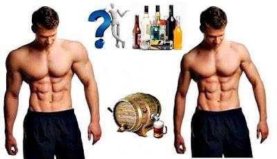 Drinking alcohol after exercise is bad for muscles and health