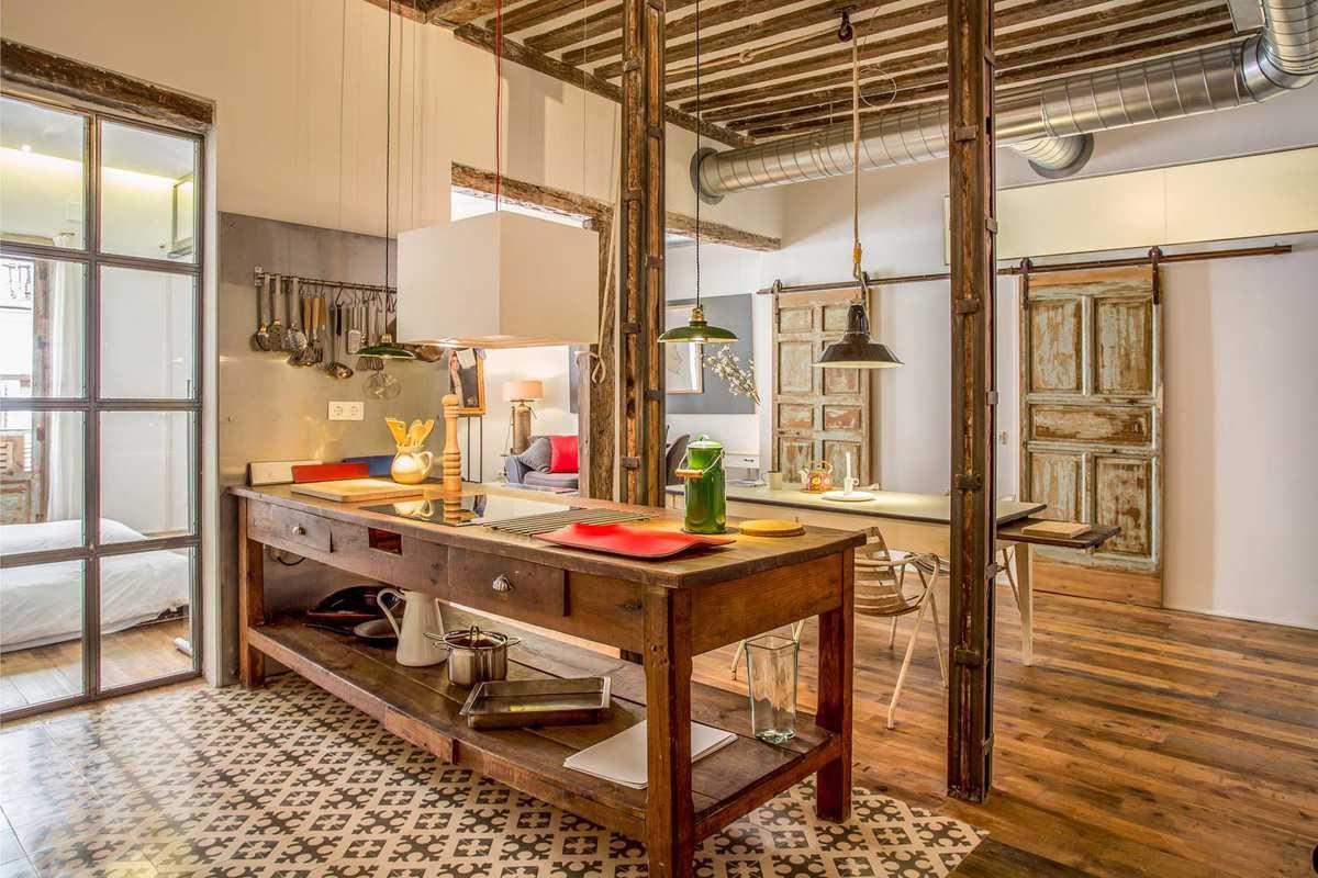 Decordemon charming loft in madrid - Casas rurales de madera ...