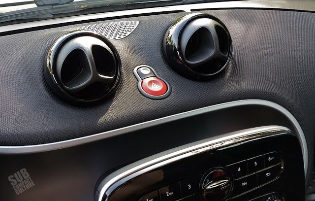 Smart Fortwo interior vents