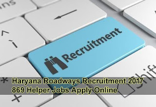 Haryana Roadways Recruitment 2017, HARTRANS Recruitment 2017 Apply Online