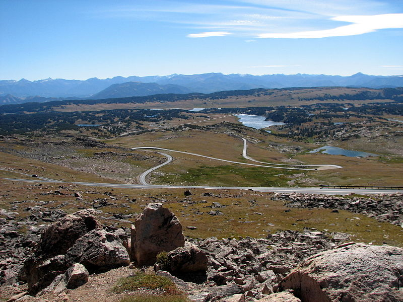Beartooth Highway Western Trips