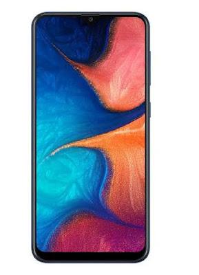 Galaxy A20 Phone Display