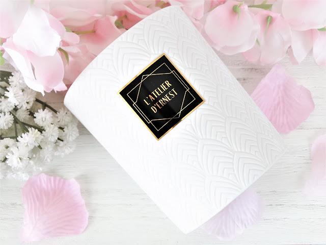 avis bougie parfumée L'Atelier D'Ernest de Caron, bougie parfumée caron