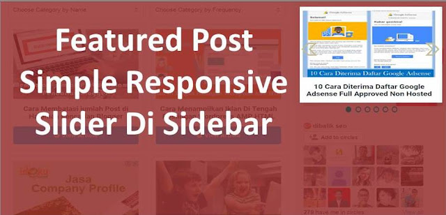 Featured Post Simple Responsive