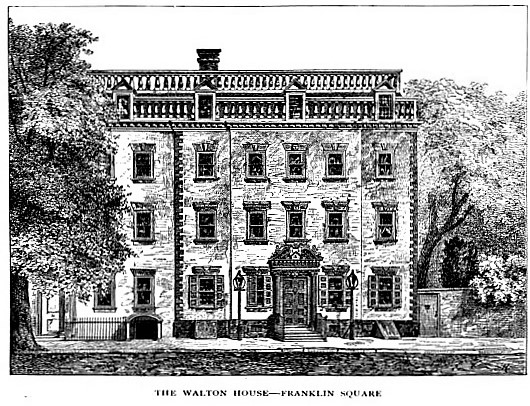 Daytonian in Manhattan  The Lost Wm  Walton Mansion   326 Pearl Street The Lost Wm  Walton Mansion   326 Pearl Street