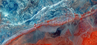 border Red line,abstract landscapes of deserts of Africa ,Abstract Naturalism,abstract photography deserts of Africa from the air,abstract surrealism,mirage,fantasy of stone ,abstract expressionism