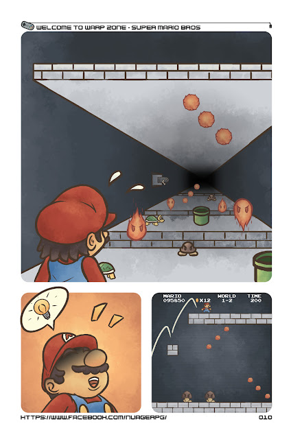 Gameplay emergent comic