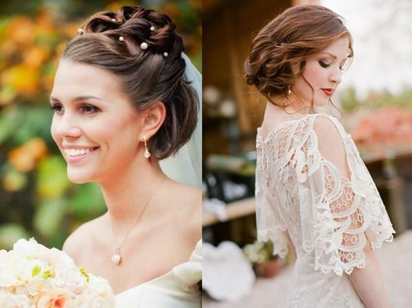 Brautfrisuren für hellblonde Haare 2016
