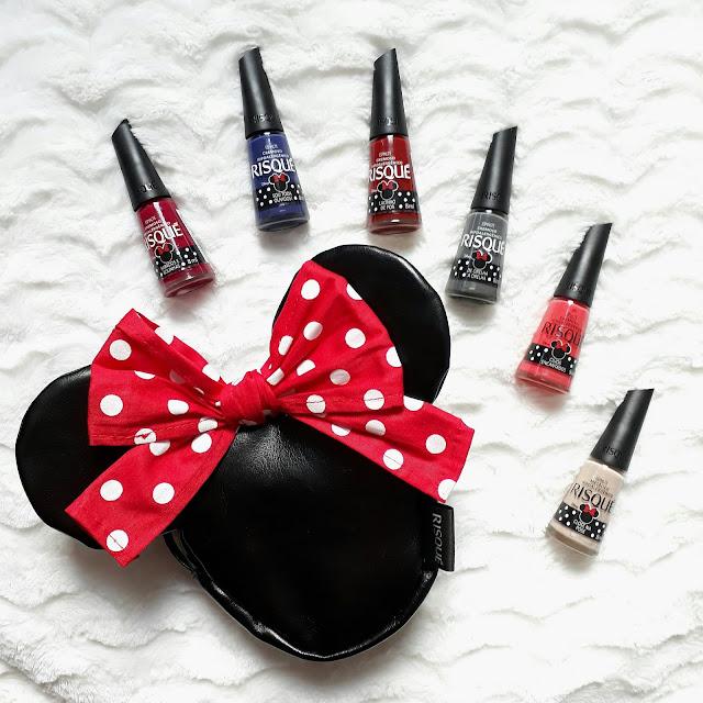Coleção Minnie Mouse Risque