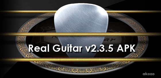 Download Gratis Real Guitar v2.3.5 APK Premium