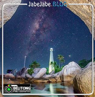 Panorama Milky Way di Belitung