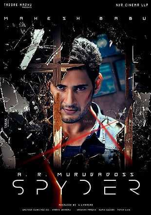 Spyder 2017 Full Hindi Dubbed Movie Download 720p HDRip
