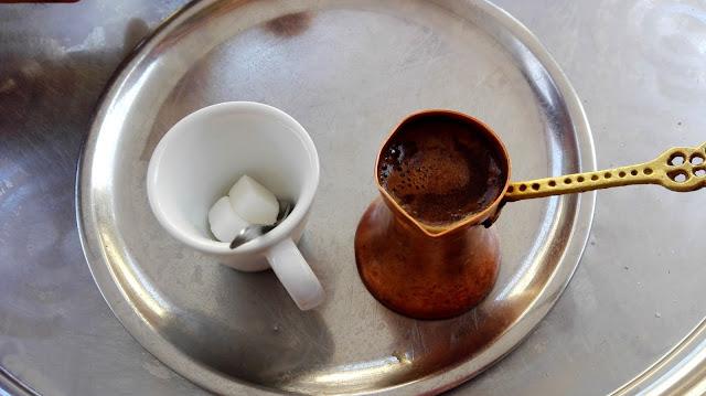 bośniacka kawa, tygielek