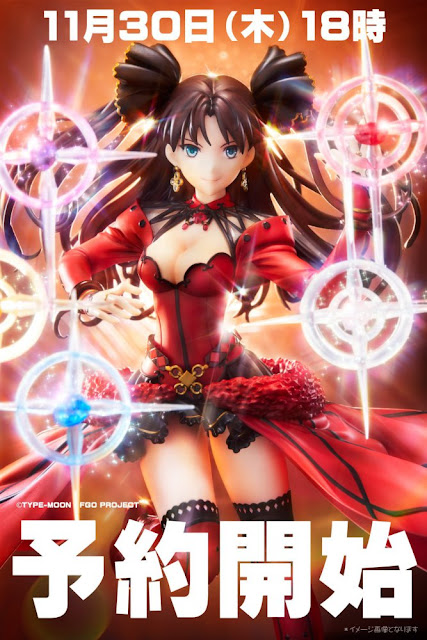 "Prototipo a color de Rin Tohsaka 1/8 de ""Fate/Grand Order"". - Easy Eight"