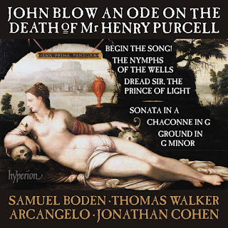 John Blow - An Ode on the death of Henry Purcell - Arcangelo