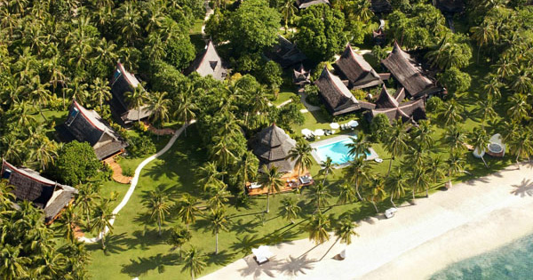 Dedon Island Resort in Siargao, Philippines
