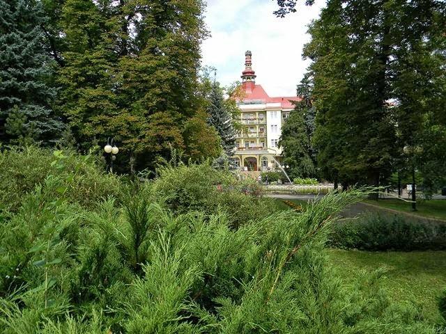 Polanica-Zdrój, zieleń, park zdrojowy