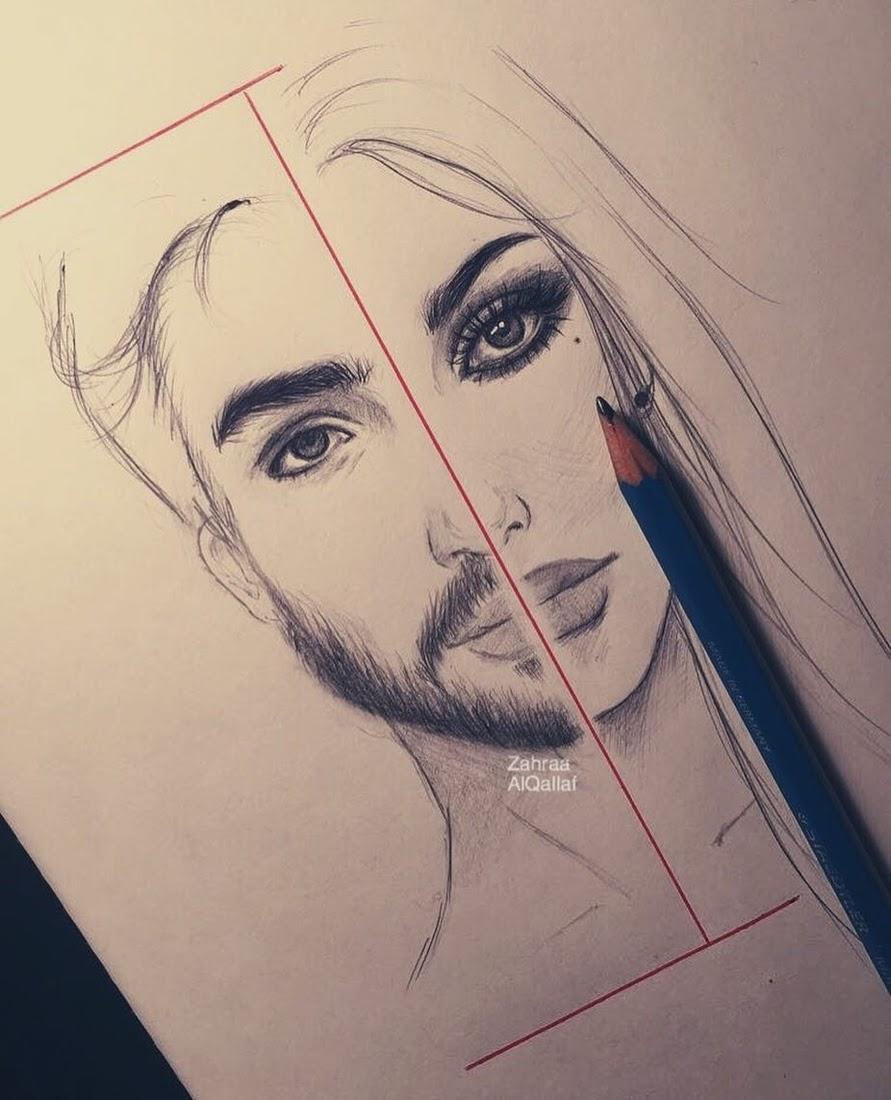 06-Zahraa-AlQallaf-Find-Escapism-in-Drawing-Portraits-www-designstack-co