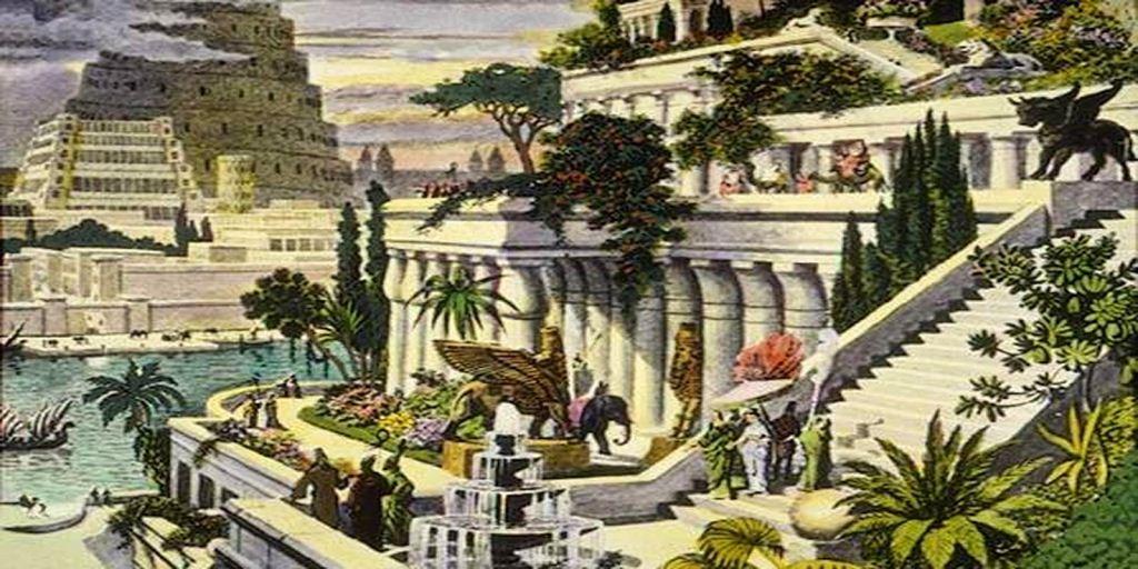 Taman gantung di Babylonia