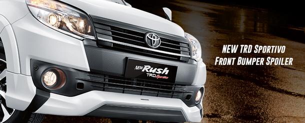 New TRD Sportivo front bumper spoiler