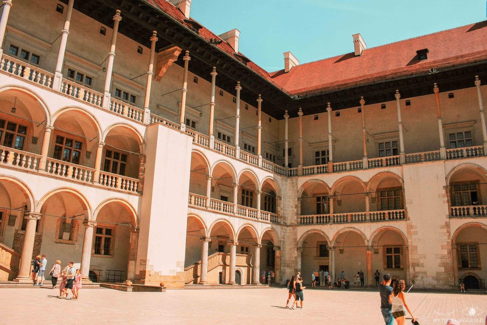 My Travel Background : Cracovie en Pologne, mon top 10 pour visiter la ville - Château de Wawel