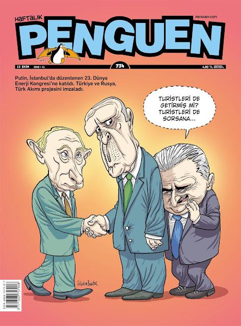 Penguen Dergisi | 13 Ekim 2016 Kapak Karikatürü