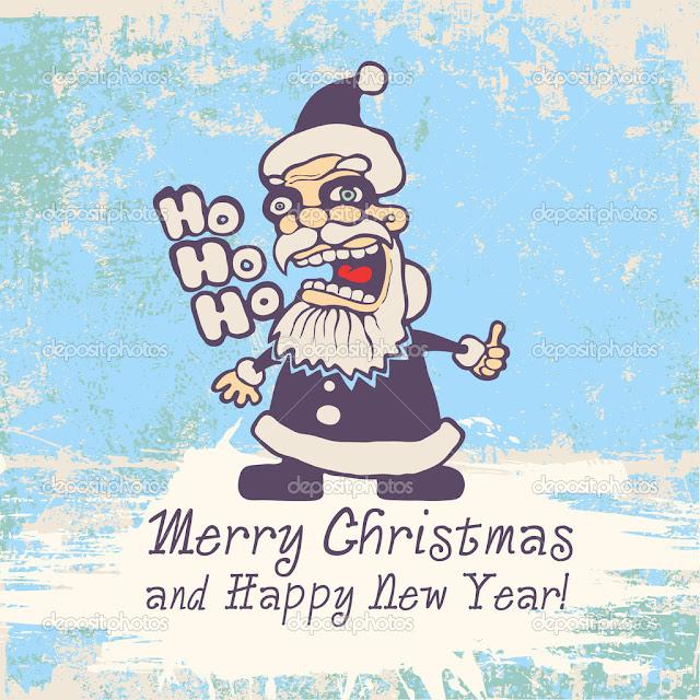 merry xmas funny card image