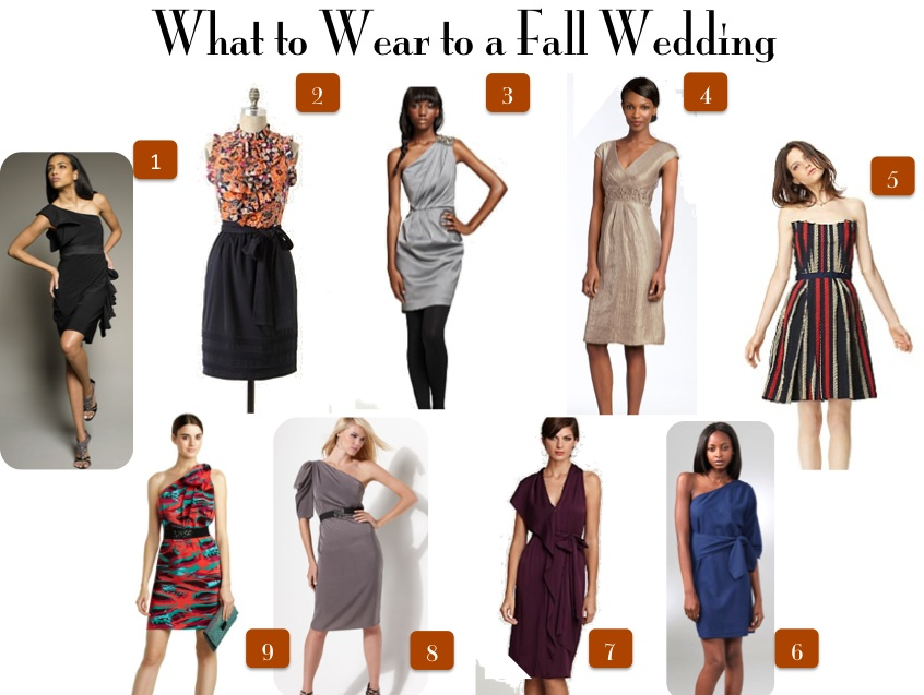 What To Wear An Outdoor Fall Wedding