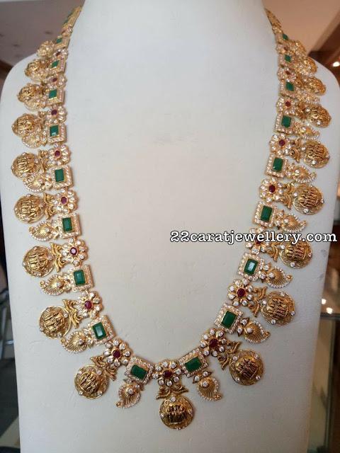 ram parivar haram with mangos jewellery designs