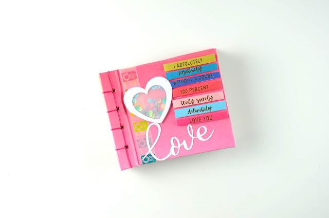 Álbum San Valentín Scrapbooking Valentines album