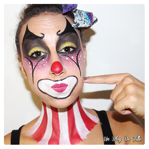 http://unblogdefille.blogspot.com/2016/10/maquillage-artistique-clown-art-show.html