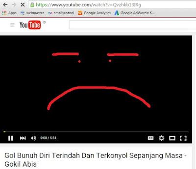 video youtube tidak bisa diputar