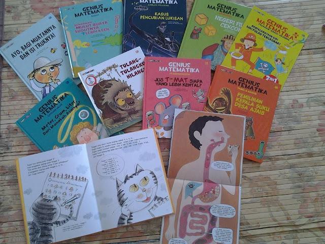 koleksi buku anak favorit