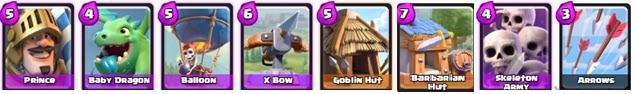 Kombinasi Battle Deck Yang Ampuh Untuk Arena 3 Di Clash Royale (2)