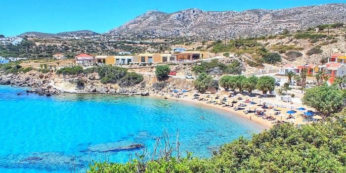 Karpathos: spiagge baia Amoopi