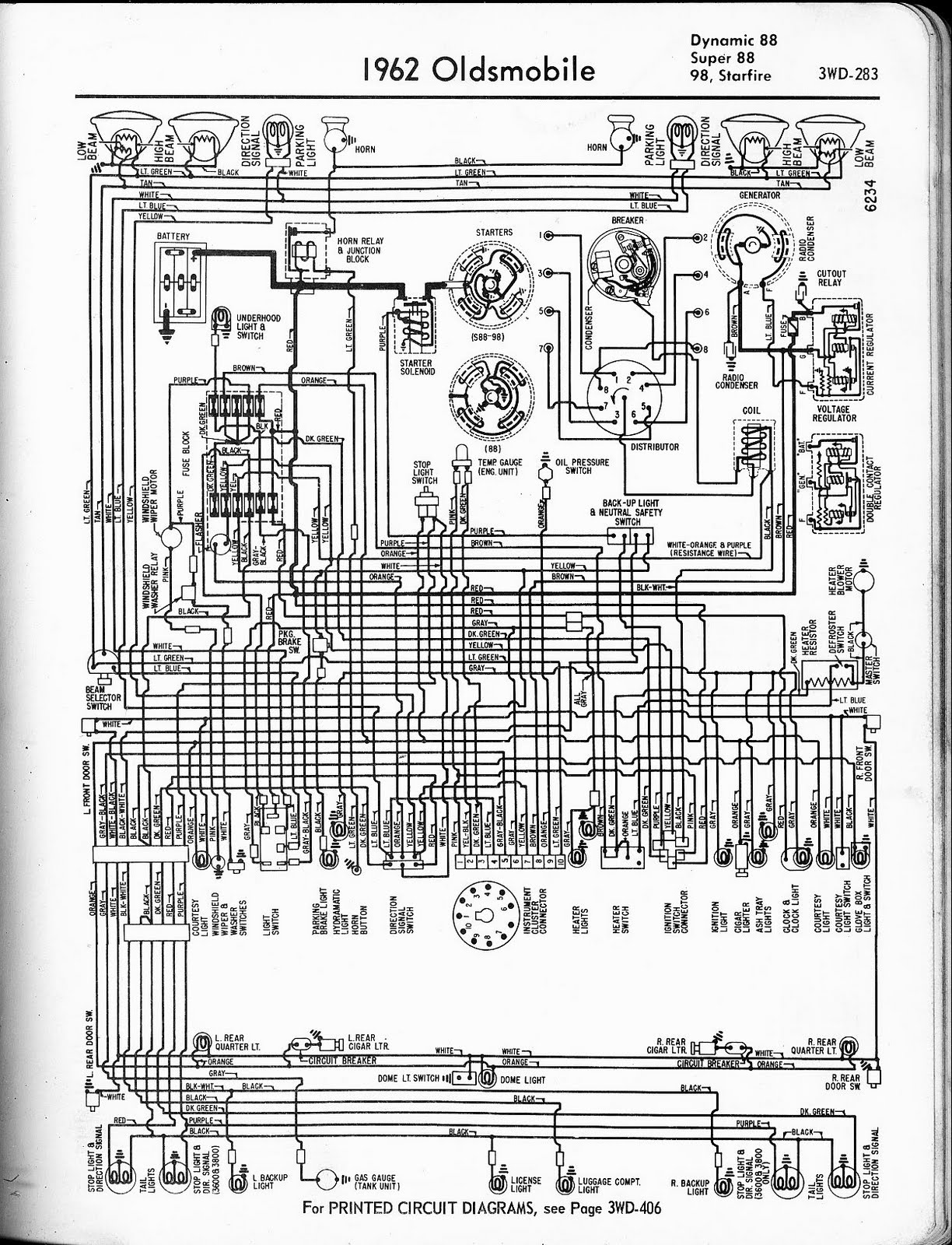 1958 oldsmobile wiring diagram trusted wiring diagrams u2022 rh sivamuni com 1998 oldsmobile 88 wiring  [ 1224 x 1600 Pixel ]