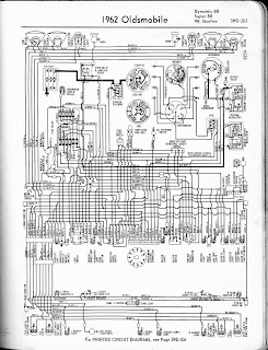 Free Auto Wiring Diagram: 1962 Oldsmobile Dynamic 88, Super 88, 98, Starfire Wiring Diagram
