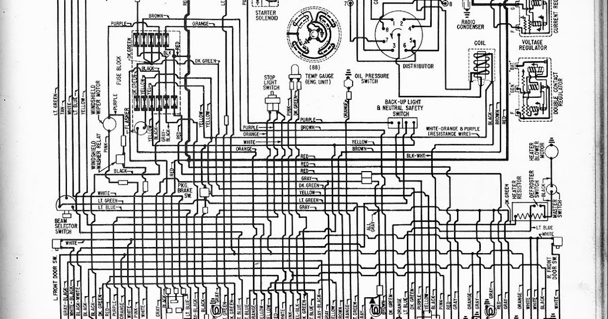 Oldsmobile Dynamic C Super C C Starfire Wiring on Chevrolet Wiring Diagram