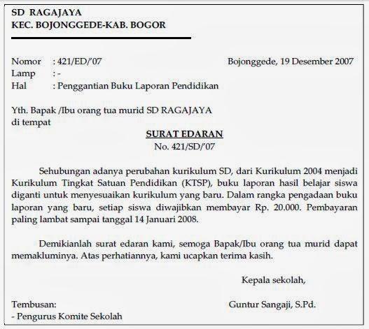 Zahrotussaadahmafa Contoh Surat Perintah Pengumuman Disposisi