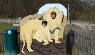 En el Zoo de Salzburgo.