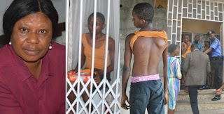 13 years old girl identified as nkechi ose been maltreated by a wicked mother.