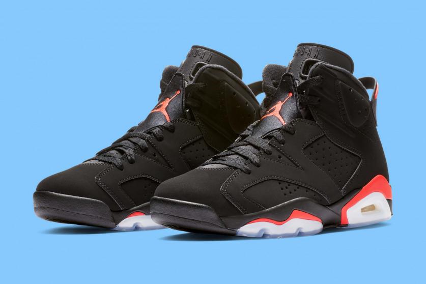 5779fb2d9924 First Look  Nike Air Jordan 6  Black Infrared