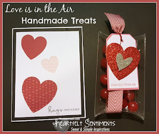 Love is in the Air, a Blog With Friends group post | How to make Handmade Treats by Melissa of My Heartfelt Sentiments | Presented on www.BakingInATornado.com | #DIY