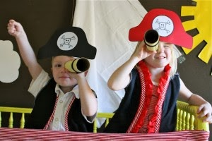 sombreros piratas para tus fiestas infantiles