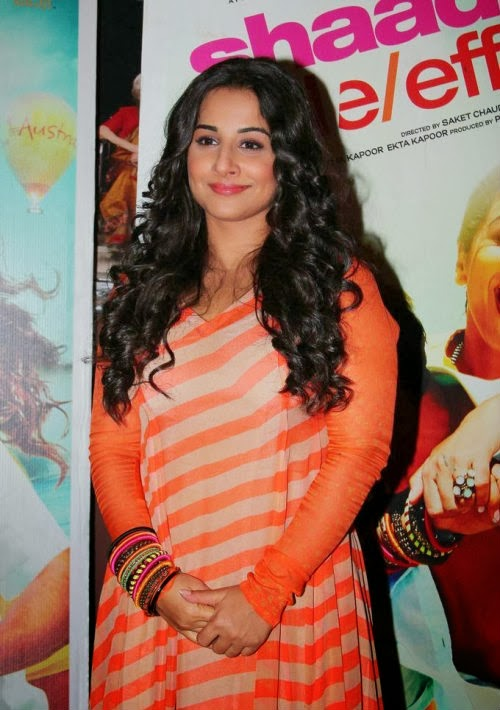 Vidya Balan Promoting Shadi Ke Side Effects
