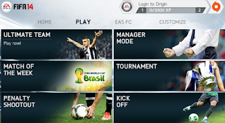 FIFA 14 v1.3.6 Mod Apk Data Full Unlocked