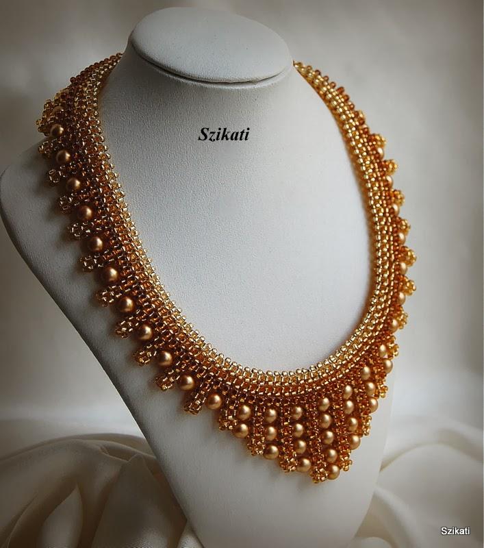 Szikati Jewelry Design: Gold Honey